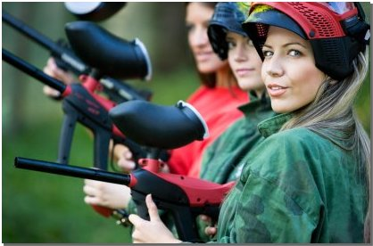 Paintball Girlfriends
