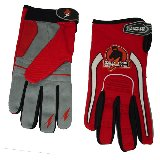 Zephyr Sports Red Paintball Gloves